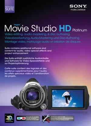 Sony Movie Studio Vegas 11 HD Platinum Suite