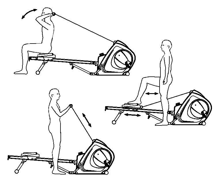 bh fitness ruderger t vario program r350. Black Bedroom Furniture Sets. Home Design Ideas