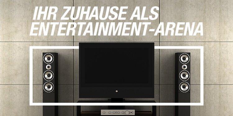 Ihr Zuhause als Entertainment-Arena