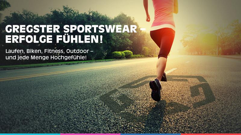 Gregster Sportbekleidung für Männer und Frauen