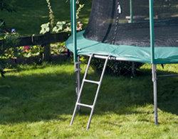 HUDORA Leiter für Gartentrampoline mit bis zu 90 cm Rahmenhöhe (Art. 65164) - Weitere Features