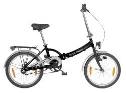 terrabikes faltrad 3 gang silber 50 8 cm 20 zoll. Black Bedroom Furniture Sets. Home Design Ideas