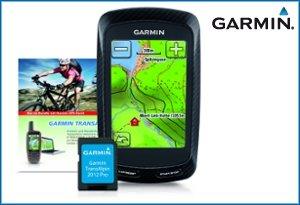 Garmin Edge 800 Radcomputer + Garmin Transalpin 2012 grenzüberschreitende Freizeitkarte, auf microSD, M10-DE100-19