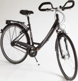 Ultrasport Damen Aluminium City-Fahrrad, 7 Gang