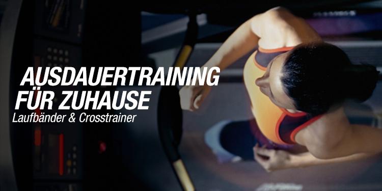 Laufbänder & Crosstrainer