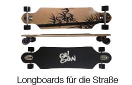 Longboards - mit Spaß unterwegs