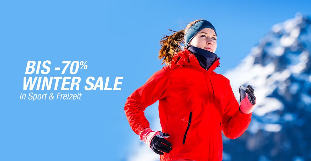 Winter Sale Sport & Freizeit