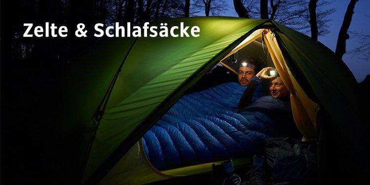 Zelte & Schlafsäcke