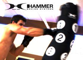 HAMMER BOXSACK SPARRING mit Trefferpunkten - Art.Nr. 92008 Zusatzbild