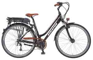 stratos damen e bike alu trekking entdecker 4 1 glanzschwarz rahmenh he 50 cm reifengr e. Black Bedroom Furniture Sets. Home Design Ideas
