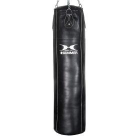 HAMMER Boxsack Premium, Rindsleder Professional, schwarz