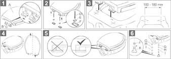 cornat ksfamc00 wc sitz family comfort mit 3 fach. Black Bedroom Furniture Sets. Home Design Ideas
