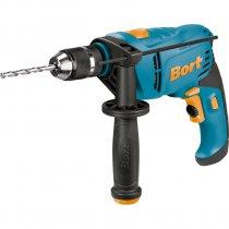 Bort BSM-900U-Q Semiprofessionelle Schlagbohrmaschine - Schlagbohrmaschine mit 900 Watt und Zusatzhandgriff mit Bohrerdepot