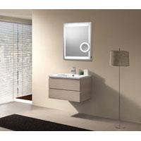 mebasa mybls09 korsika leuchtspiegel badspiegel lichtspiegel led beleuchtung e light 80x60 cm. Black Bedroom Furniture Sets. Home Design Ideas