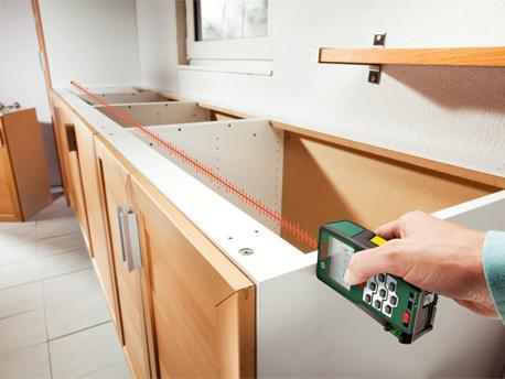 Bosch plr 50 laser entfernungsmesser mit tasche
