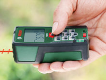 Bosch plr 50 laser entfernungsmesser schutztasche 0 05 50 m
