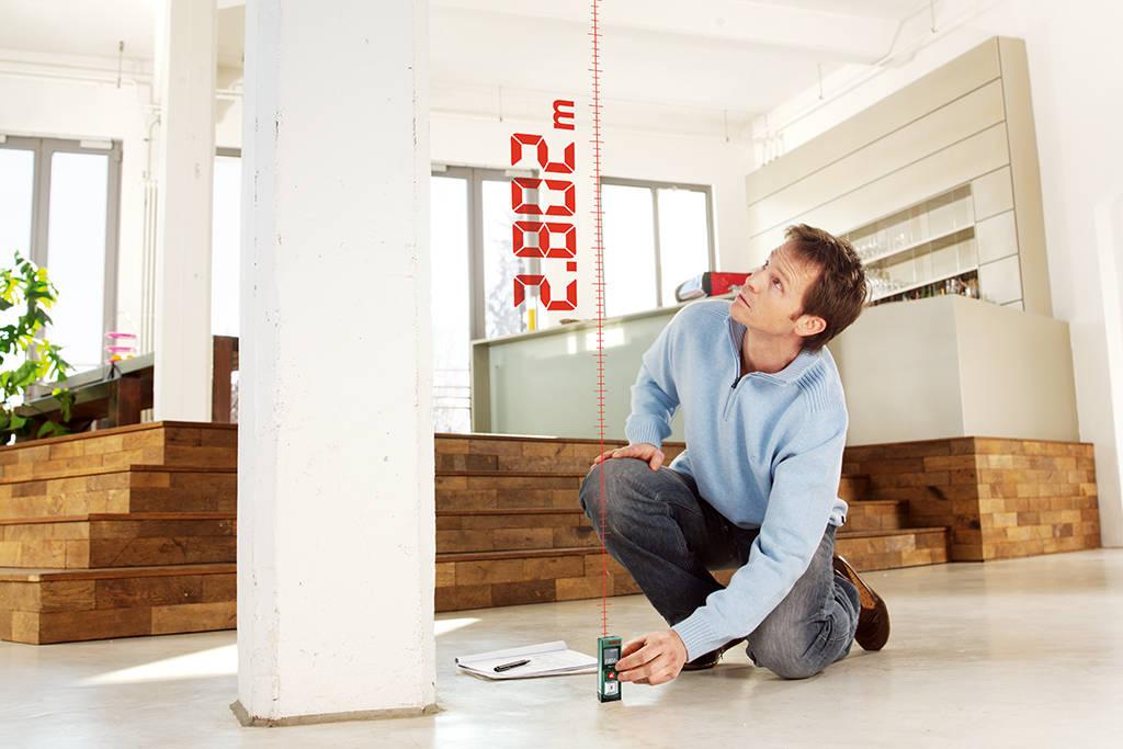 Bosch plr diy digitaler laser entfernungsmesser batterien