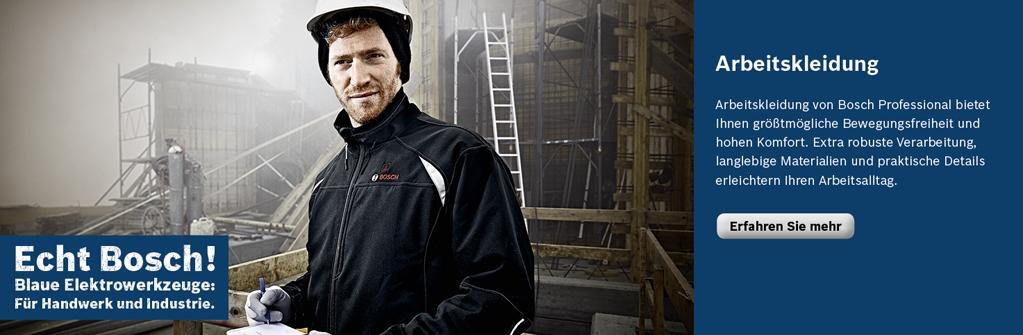 Bosch Professional: Arbeitskleidung