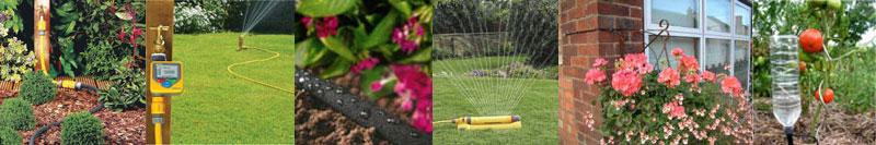 Sprinklers und automatische Bewässerungssysteme