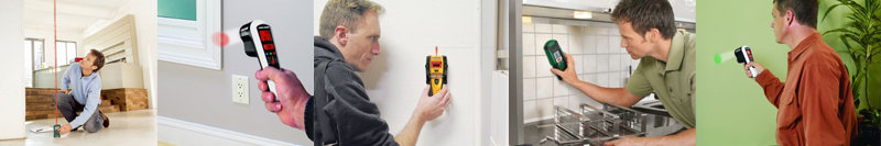Measuring and detecting tools make your DIY faster and easier.