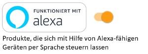 Funktioniert mit Alexa
