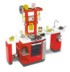 Cucina Smoby con numerosi accessori