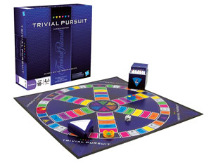 Hasbro 16762100 - Trivial Pursuit Master Edition