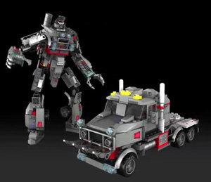 Die Transformers klotzen ran Zusatzbild