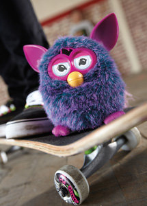 Furby A0003363 - Plüschtier Edition Hot, lila/pink