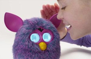 Furby A0003363 - Plüschtier Edition Hot, lila/pink - Zusatzbild