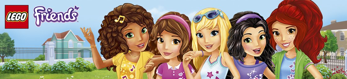 Lego Friends Main Banner