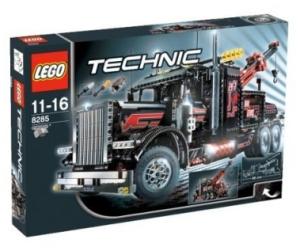 lego technic 8285 gro er schwarzer abschlepptruck. Black Bedroom Furniture Sets. Home Design Ideas