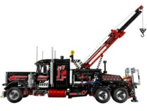 lego technic 8285 gro er schwarzer abschlepptruck. Black Bedroom Furniture Sets. Home Design Ideas