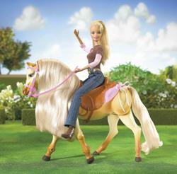 barbies pferd