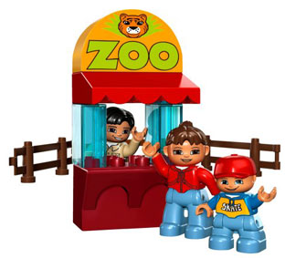 LEGO Duplo Ville 5635 - Zoo Set Deluxe: Amazon.de: Spielzeug