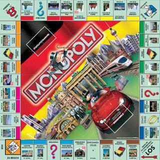 Monopoly Deutschland das Spielbrett