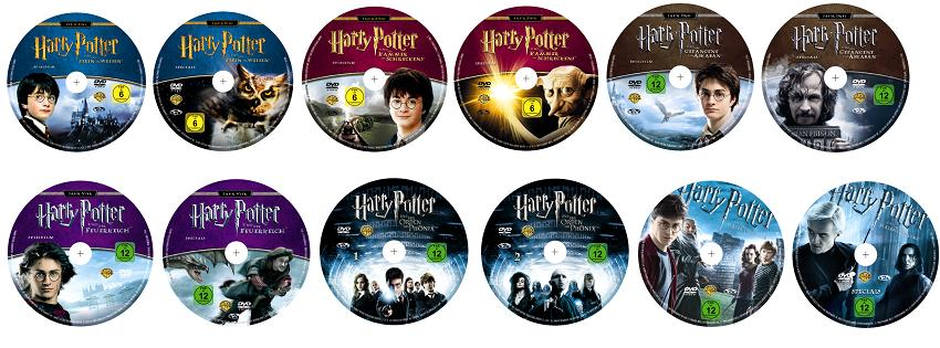 harry potter 1 6 limited edition 12 dvds album amazon. Black Bedroom Furniture Sets. Home Design Ideas