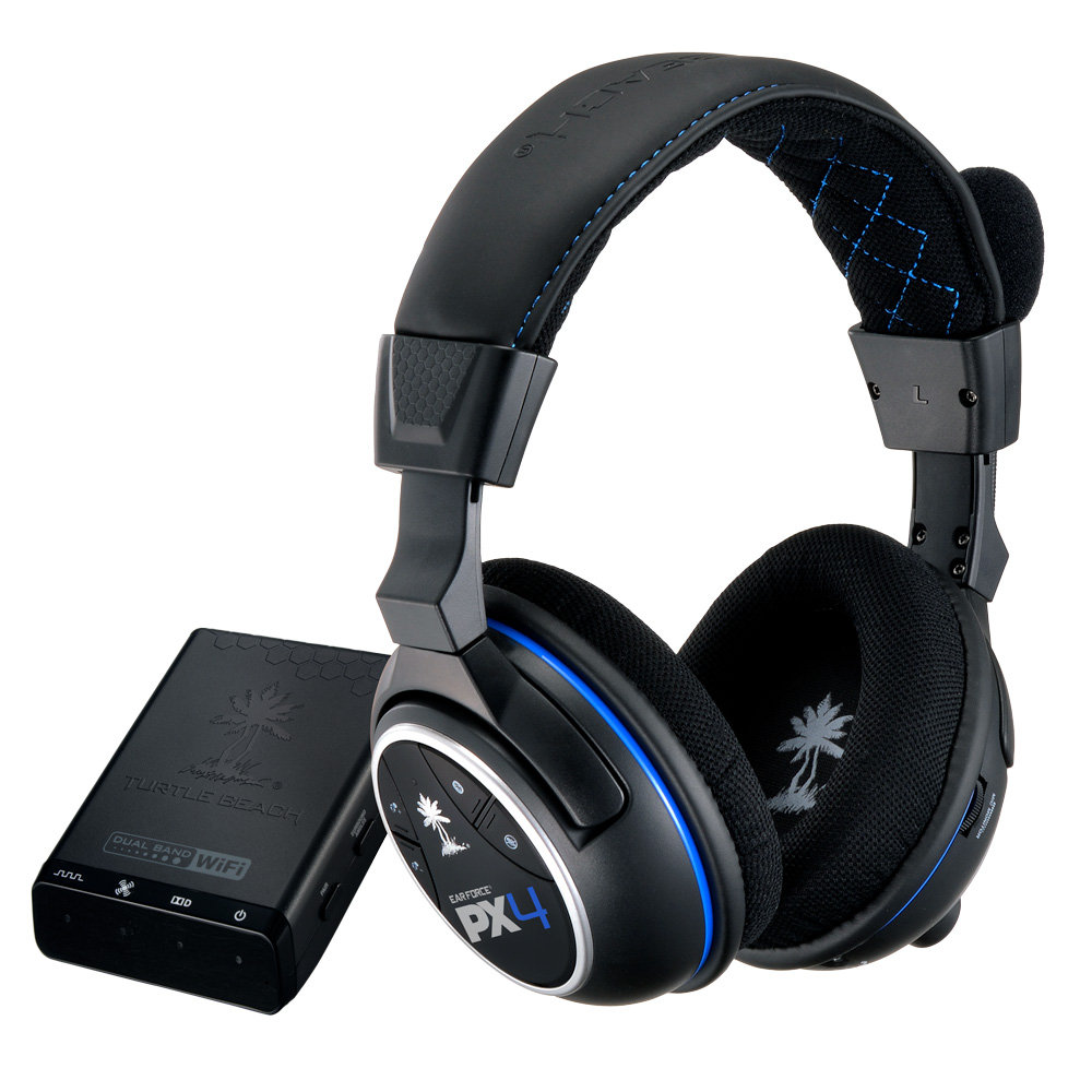 turtle beach ear force px4 headset ps4 ps3 xbox 360. Black Bedroom Furniture Sets. Home Design Ideas