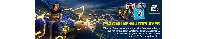 PS Plus Vorteil: PS4 Online Multiplayer. Online Multiplayer kann nur mit PS Plus gespielt werden.