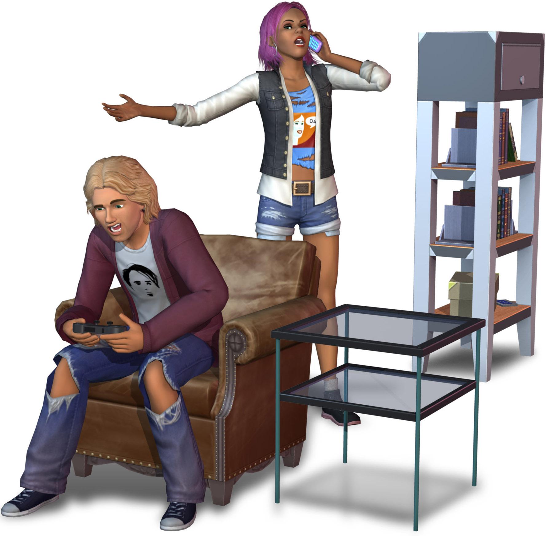 die sims 3 70er 80er 90er accessoires add on pc games. Black Bedroom Furniture Sets. Home Design Ideas