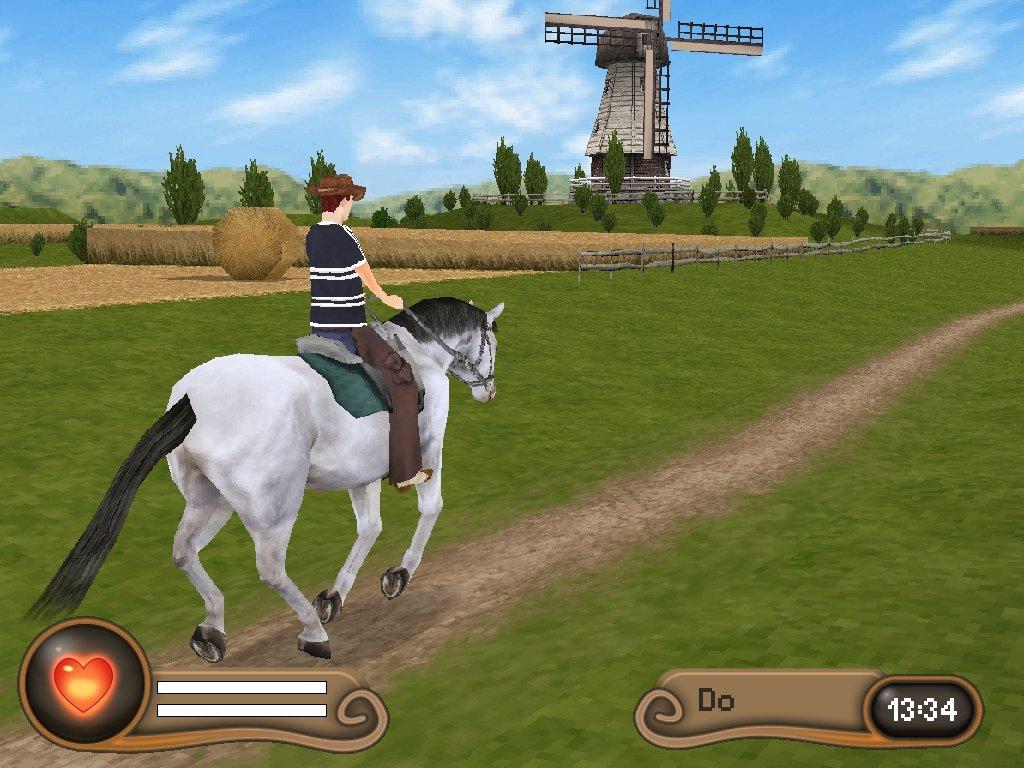 Pferdespiele Mit Ausreiten