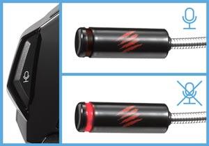 Mad Catz F.R.E.Q. 7 Surround-Sound-Gaming-Headset für PC