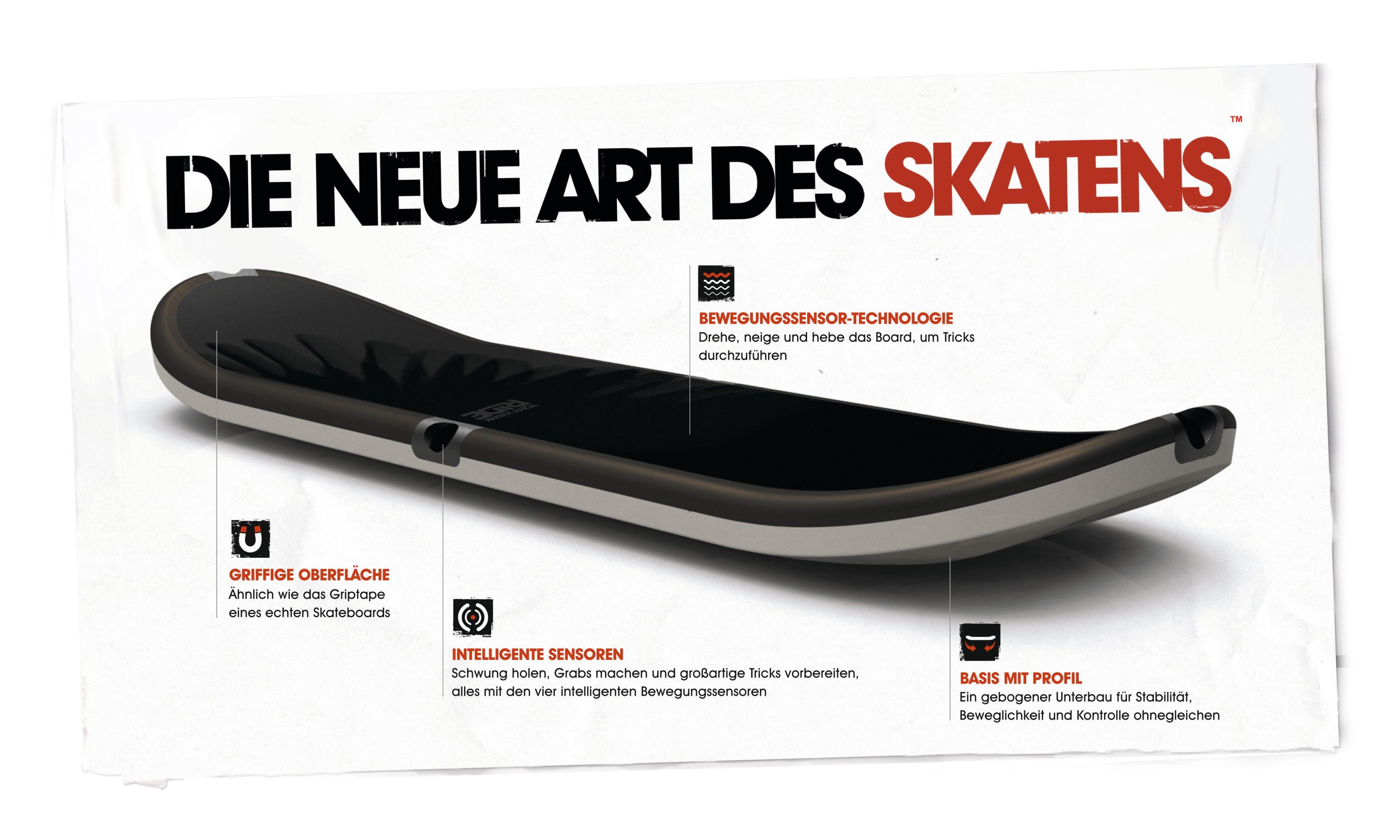 anleitung skateboard fahren