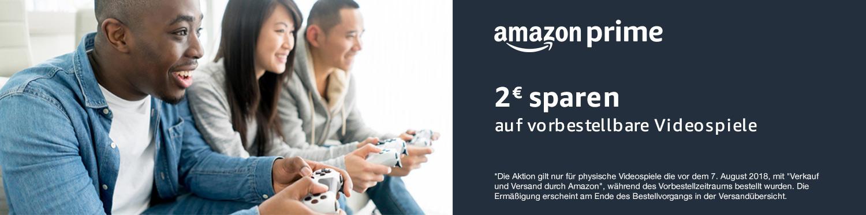 2 EUR sparen auf vorbestellbare und neu veröffentlichte Videospiele