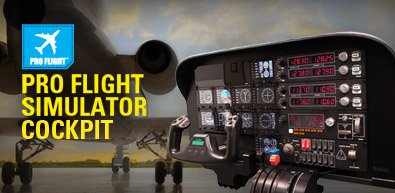 Das ultimative vorgefertigte Flugsimulator-Cockpit