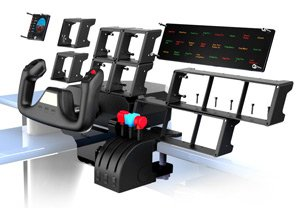 saitek pro flight multi panel f r pc computer. Black Bedroom Furniture Sets. Home Design Ideas