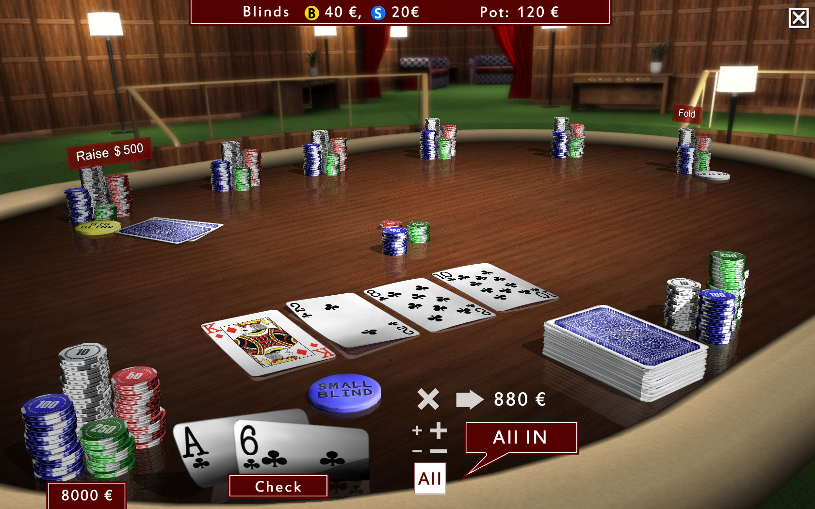 Texas Holdem Poker 3D Gold Edition