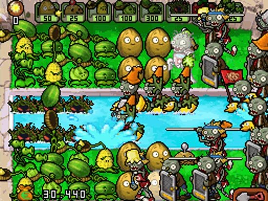 zombis gegen pflanzen