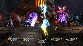 Jeder Charakter bringt seine für ihn typischen Moves und Waffen in den Kampf mit ein.