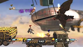 Nicht nur die Charaktere, auch die Umgebungen entstammen aus den verschiedensten Games wie etwa aus Uncharted 3.